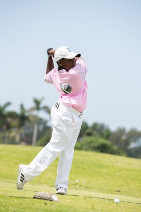 1.Zamokuhle Nxasana led the way for Ekurhuleni in the first round of the Nomads SA Boys U-13; credit SAGA