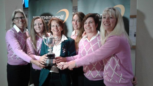 2016 SA Women's Inter-Provincial B-Section winners Southern Cape; credit WGSA