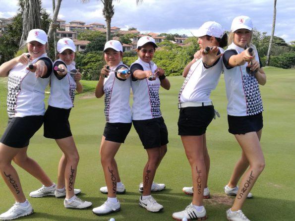 Team Gauteng A; credit Gauteng Ladies Golf GLG
