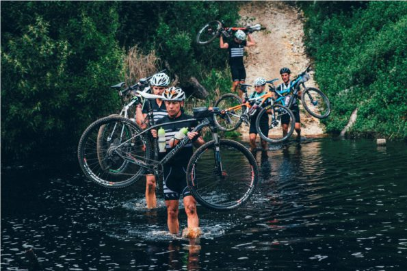 4.The lush vegetation of the Garden Route, which riders will face on the first four days of the Cape Pioneer Trek, will be starkly contrasted by the arid Klein Karoo which plays host to the race's final three days. Photo by Ewald Sadie