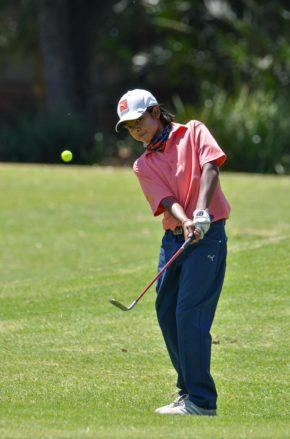 Nomads SA U-13 Championship Individual winner Amilkar Bhana from Central Gauteng