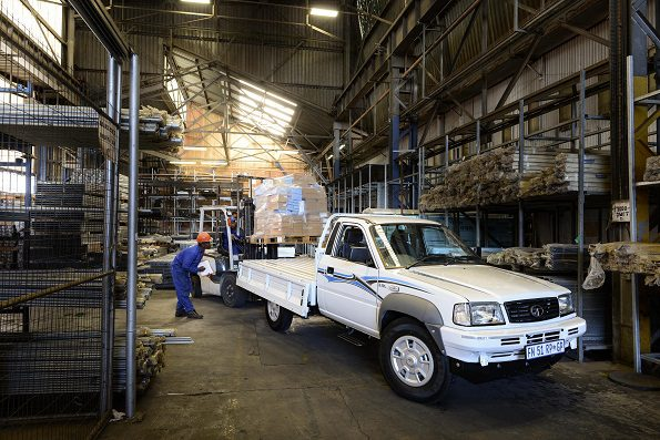 Workhorse: Tata's bakkie on the job