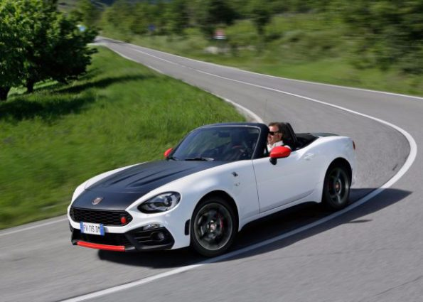 The Abarth 124 Spider: on showroom floors in December