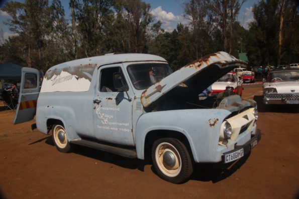 Early '50s Ford van, in ultra-cool unrestored form. Picture: Motorpress