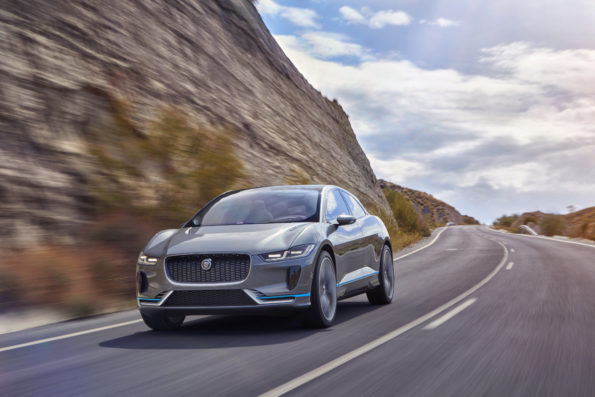 The I-Pace, the next generation of battery electric vehicle design from Jaguar. Picture: Motorpress/Jaguar