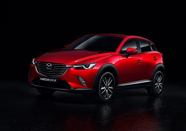 The new Mazda CX-3: suitable for the daily commute and the long and winding road. Picture: Quickpic