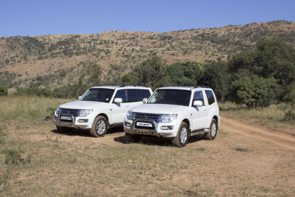 The Pajero Legend II: The LWB and the SWB: comfortable on the road and off the road. Picture: Quickpic