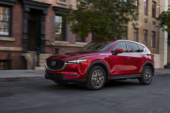 World debut: the new Mazda CX-5. Picture: Quickpic