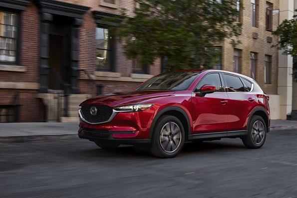 World debut: the new Mazda CX-5. Picture: Quickpic