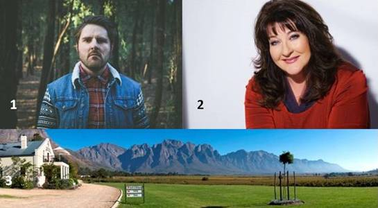 1.Bouwer Bosch 2.	Laurika Rauch 3.	Jason's Hill Private Cellar
