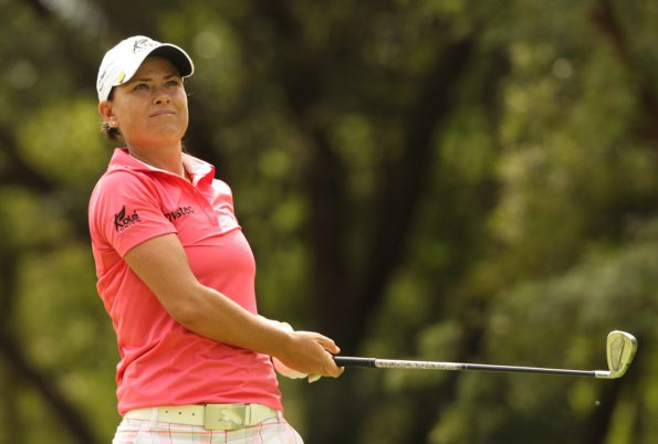 South Africa's top ranked Lee-Anne Pace will be targeting an unprecedented hat-trick at the 2017 SA Women's Open; credit Sunshine Ladies Tour