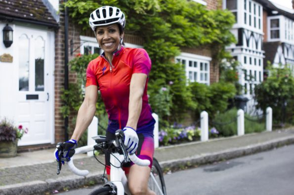 Britain's double Olympic gold medallist, Dame Kelly Holmes, will compete in the Bestmed Tour of Good Hope cycling race in South Africa next year. Photo: Supplied