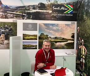 Fancourt's Head of Sales and Marketing, Peter Dros