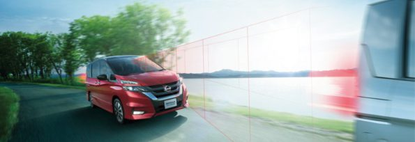 The Nissan Serena: thumbs up from Coty jury. Picture: Motorpress