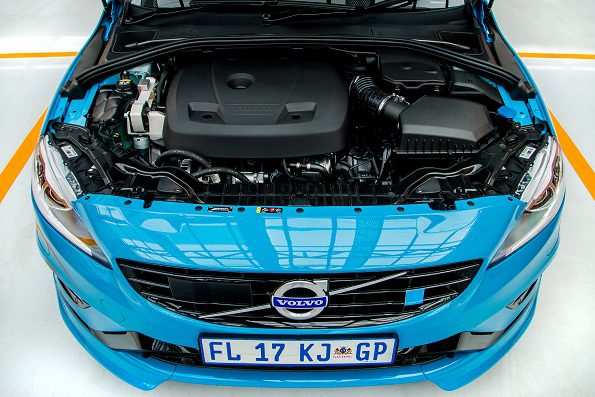 The Volvo S60: award-winning engine. Picture: Quickpic