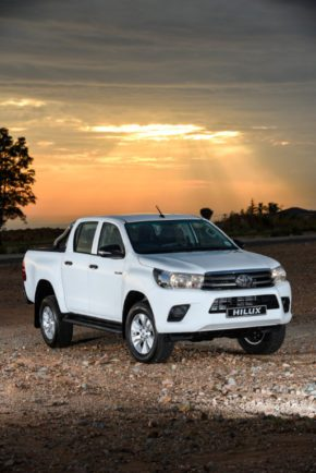 The Toyota Hilux: still above target. Picture: Motorpress