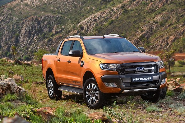 The Ford Ranger Wildtrak: Ford's star attraction. Picture: Quickpic
