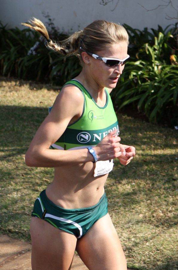 Long-distance ace Irvette van Zyl has been training hard for the Bestmed Eden Mile Series taking place in Oudtshoorn, George and Hartenbos from December 17 to 22. Photo: Reg Caldecott