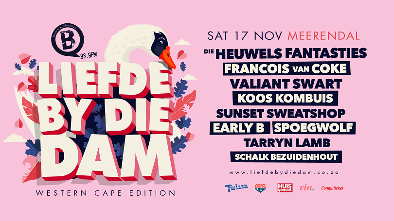 Liefde By Die Dam Concert Coming To Cape Town On 17 November