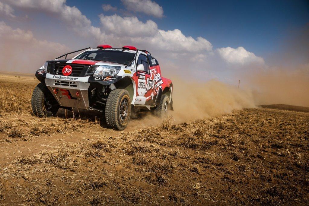 Schalk Burger Motorsport starts desert training in Namibia