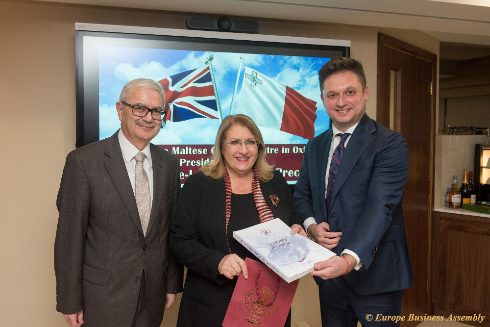 Europe Business Assembly Has Established the Centre of Malta in Oxford