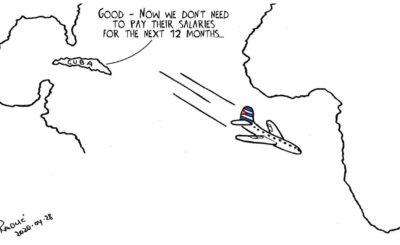 Cartoon - Shutdown Day 33: Cuban doctors
