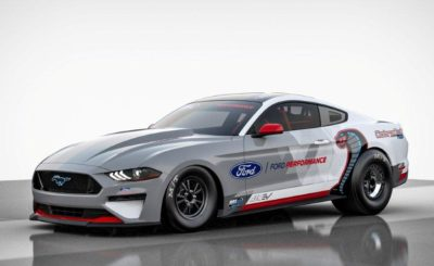 CAPTION: The strong and silent type: the battery-powered Mustang Cobra Jet.Picture: Quickpic