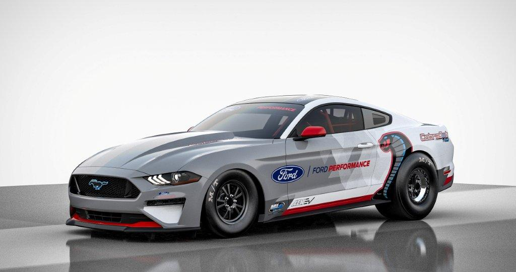 CAPTION: The strong and silent type: the battery-powered Mustang Cobra Jet. Picture: Quickpic